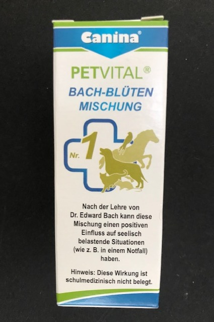 Petvital Bachblütenmischung Nr.1 Rescue Globuli 10 g